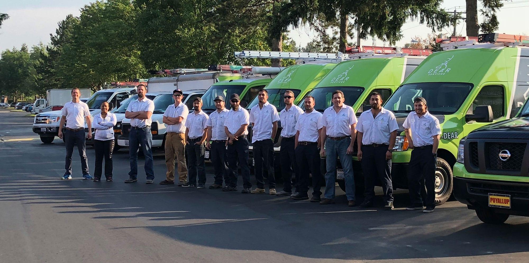 Dear Services Team Photo